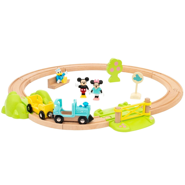 BRIO - Mickey Mouse Train Set (32277)