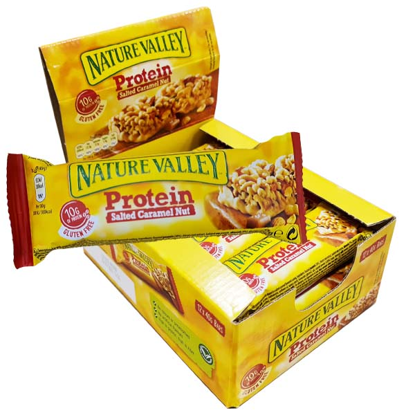 Nature Valley Salted Caramel 40g x 12 st