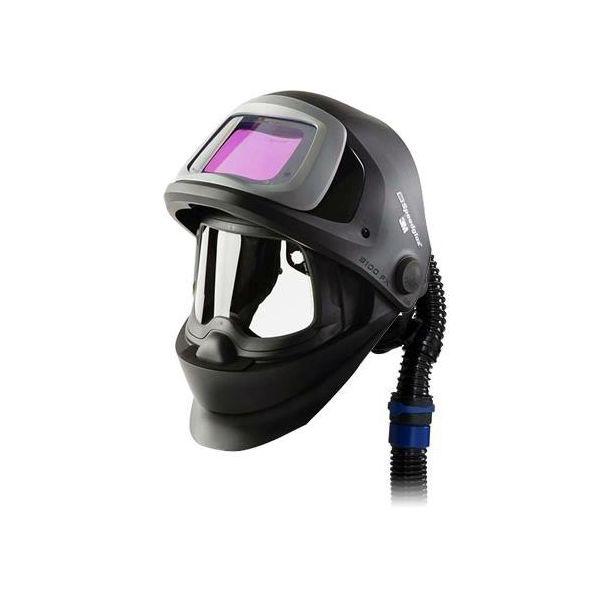 3M Speedglas Black 9100FX Hitsauskypärä ilmakanava