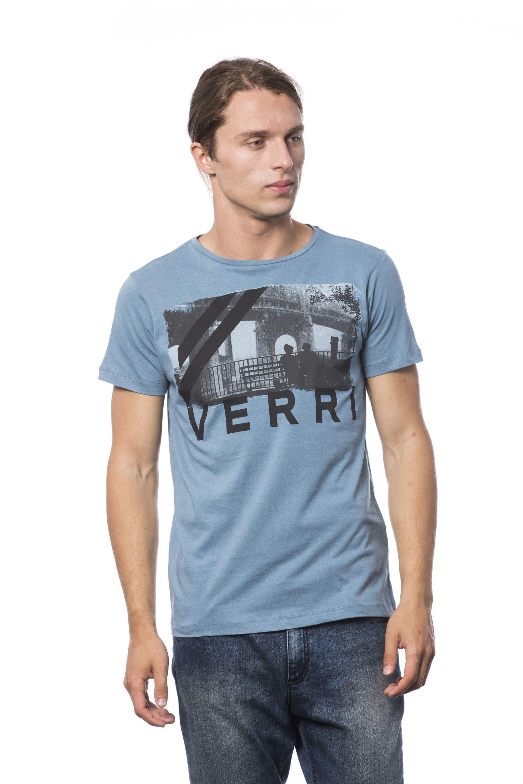 Verri Men's Denim T-Shirt Blue VE679760 - S
