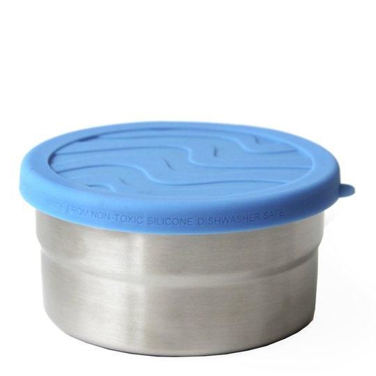 ECOlunchbox - Eco Seal Cup Rund burk Mellan 10 cm Blå
