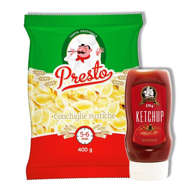 Pasta & Ketsuppi - 66% alennus