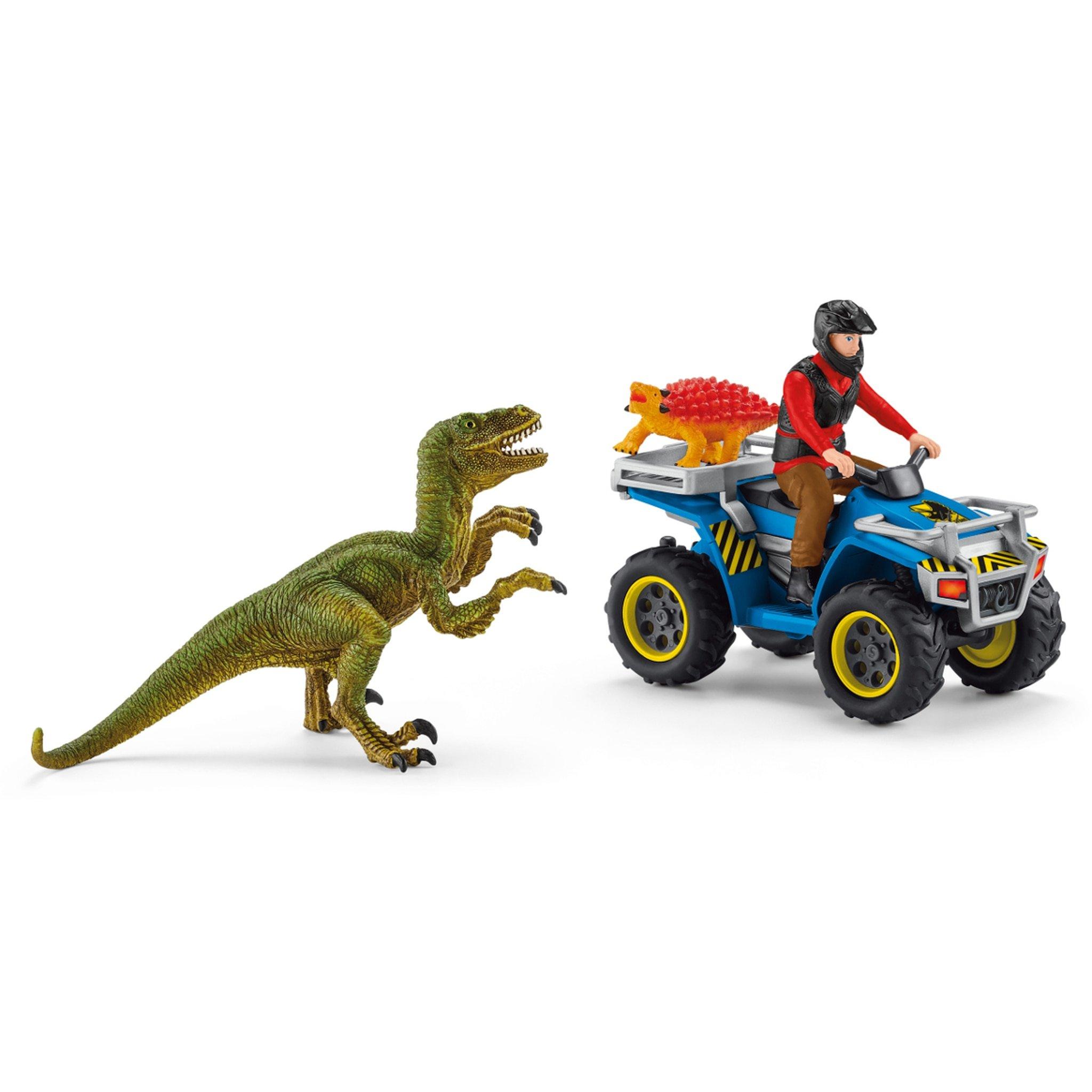 Schleich - Quad escape from Velociraptor (41466)