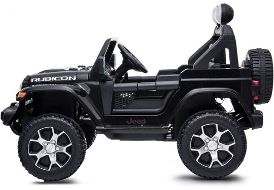 Jeep Wrangler Rubicon, Svart