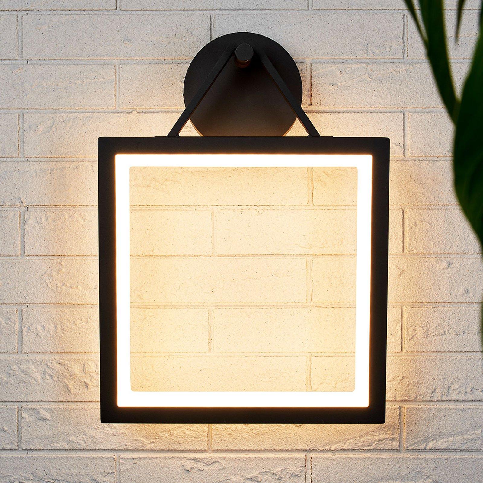 Rammeformet, utendørs LED-vegglampe Mirco