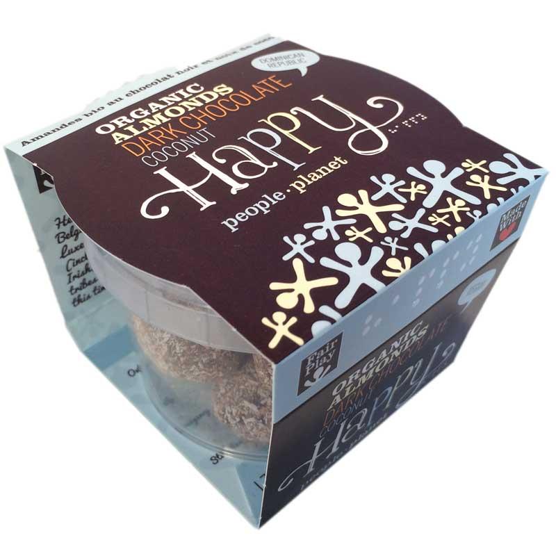 Happy Mandlar mörk choklad - 60% rabatt