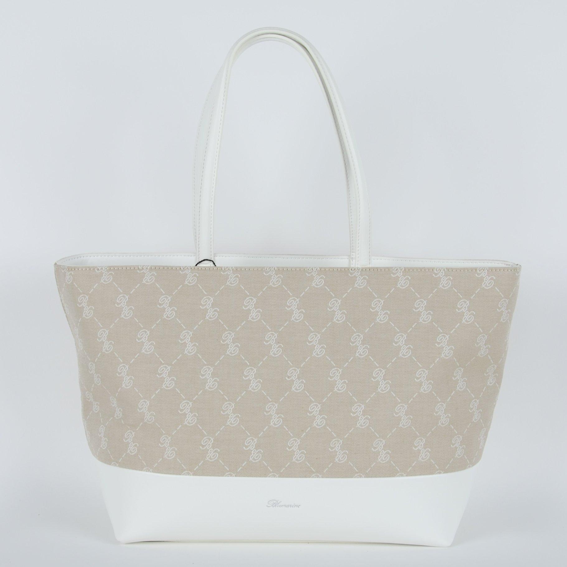 Blumarine Women's Shopping Bag White BL1421492
