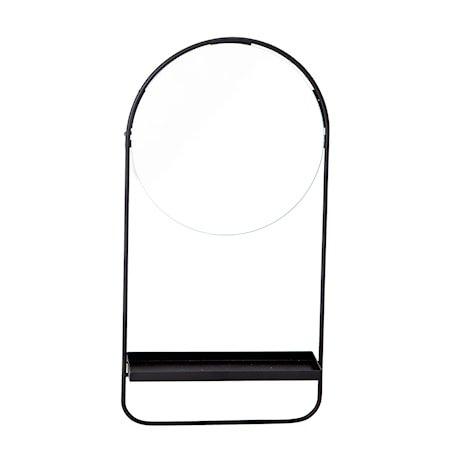 Speil Svart Glass