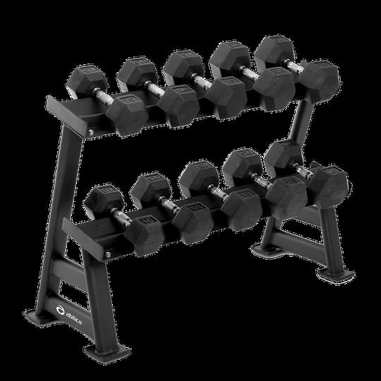 Abilica DumbbellRack Maxi Set HEX 10-20 kg