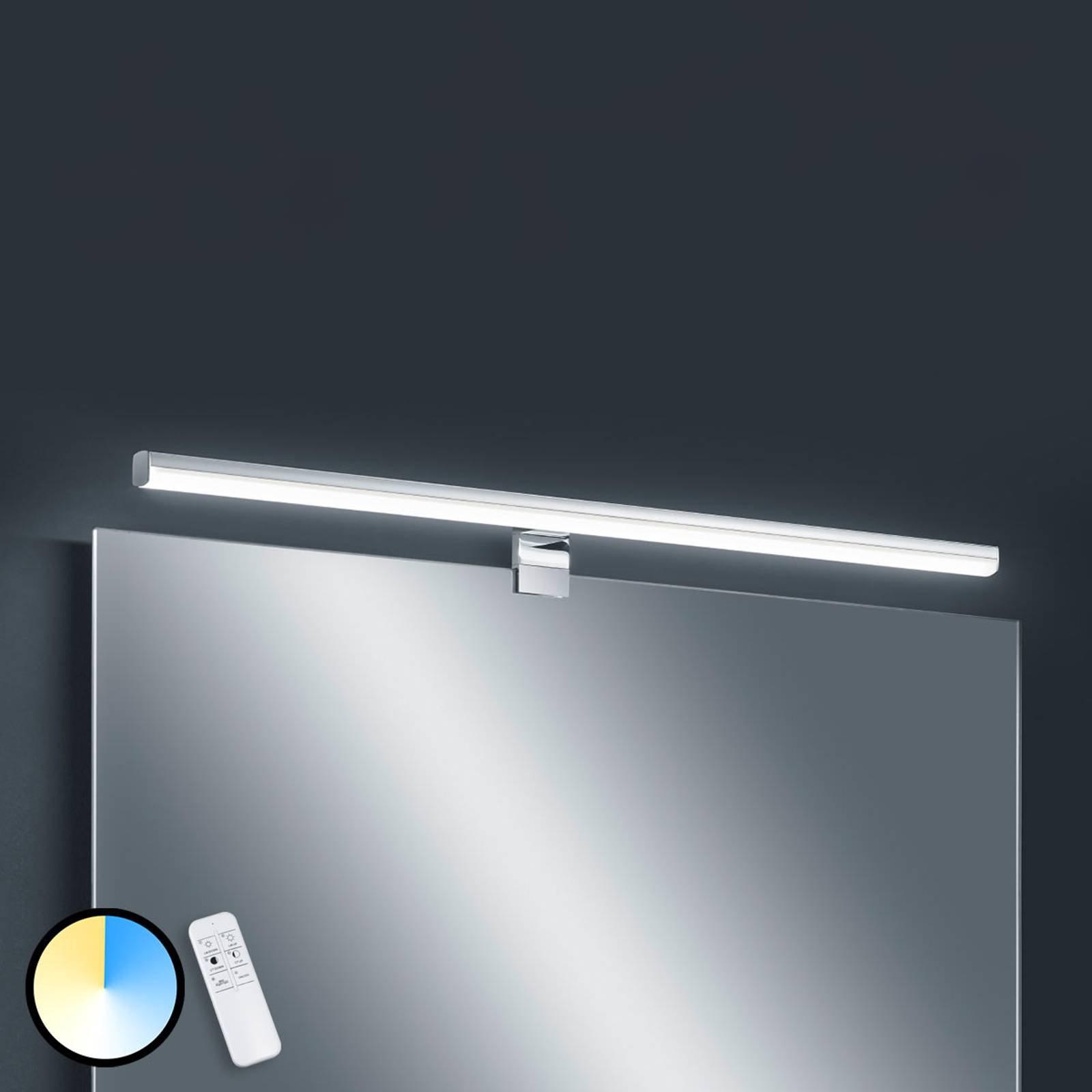 Helestra Gaia LED-speillampe fjernkontroll 79 cm