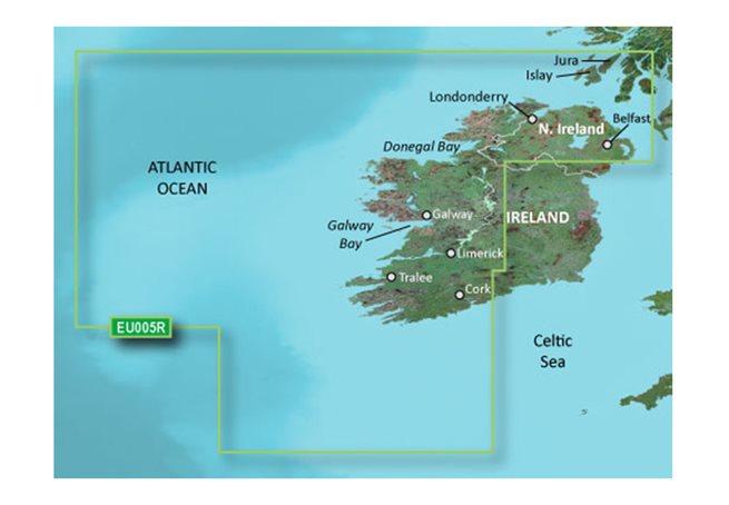 Garmin Ireland, West Coast Garmin microSD™/SD™ card: HXEU005R