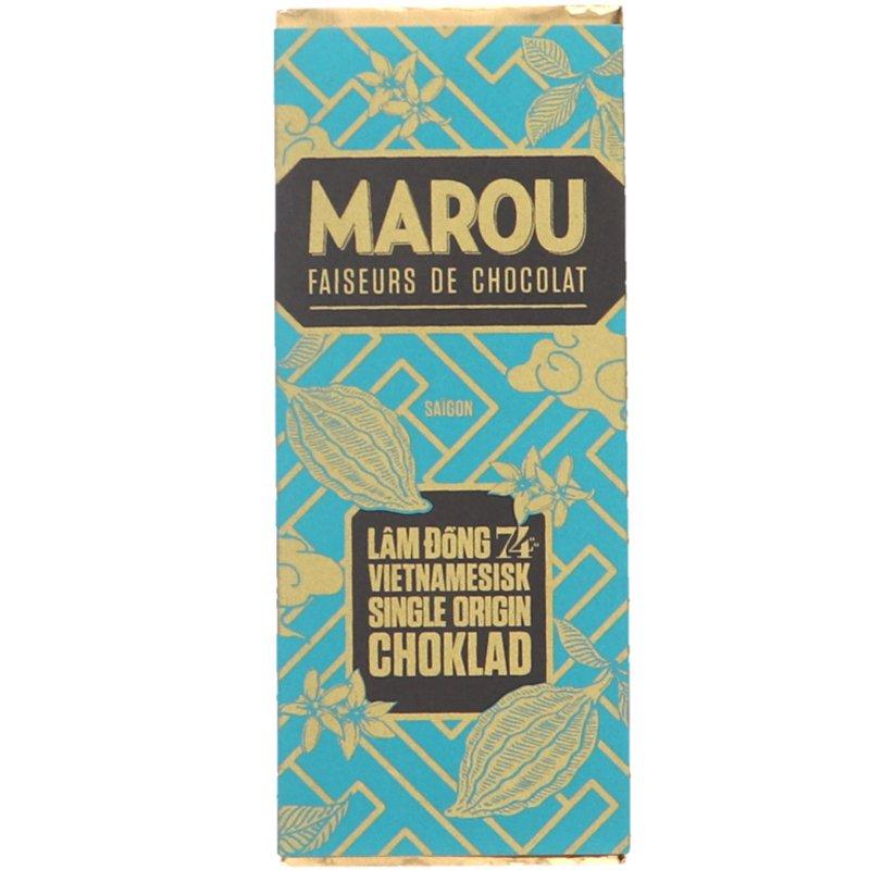 Mörk Choklad 74% - 34% rabatt