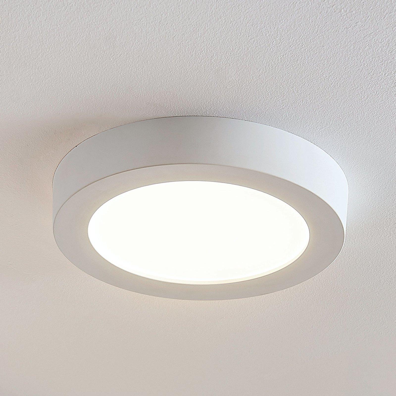 LED-taklampe Marlo, hvit, 3 000 K rund 25,2cm