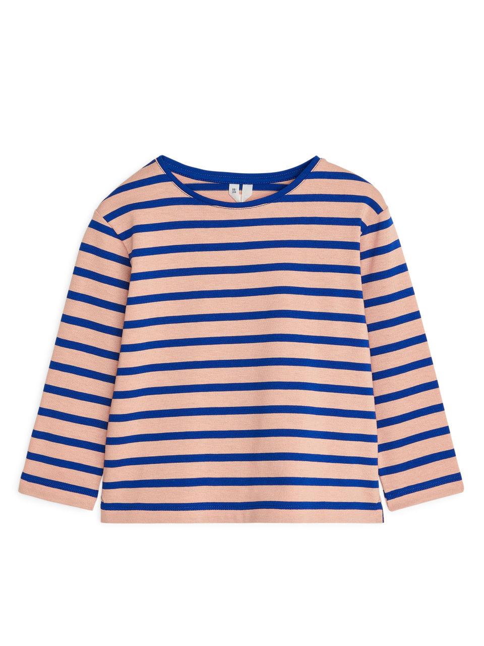Striped Top - Orange