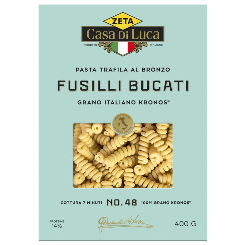 """Pasta """"Fusilli Bucati"""" 400g - 18% rabatt"""