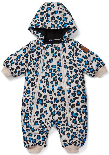 Nordbjørn Snowcub Vinterdress Baby, Blue Leo 68