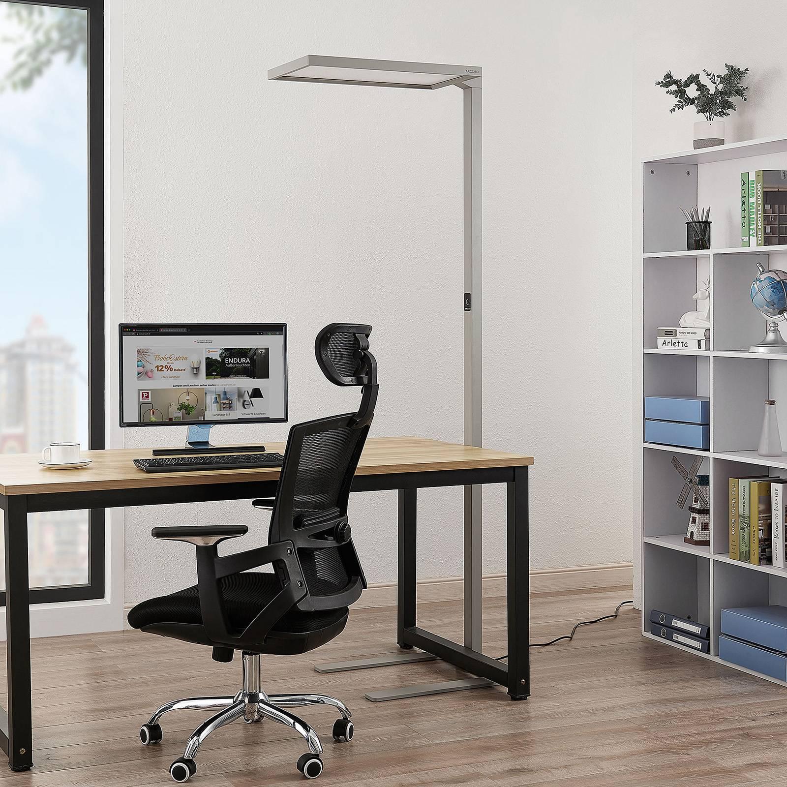 Arcchio Nelus toimiston LED-lattiavalo, himmennys