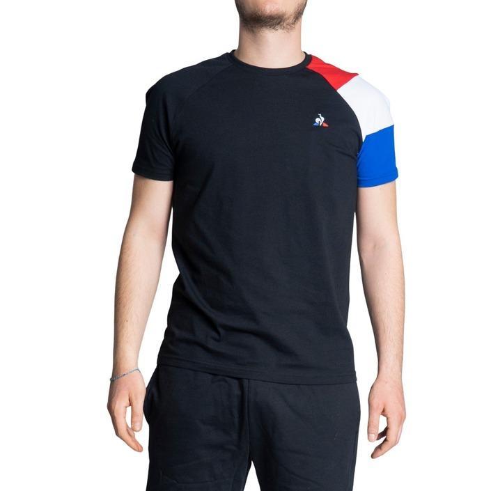 Le Coq Sportif Men's T-Shirt Black 243392 - black S