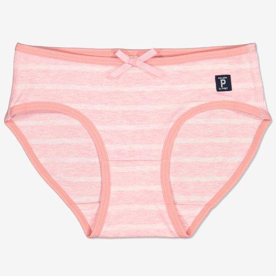 Stripet truse rosa
