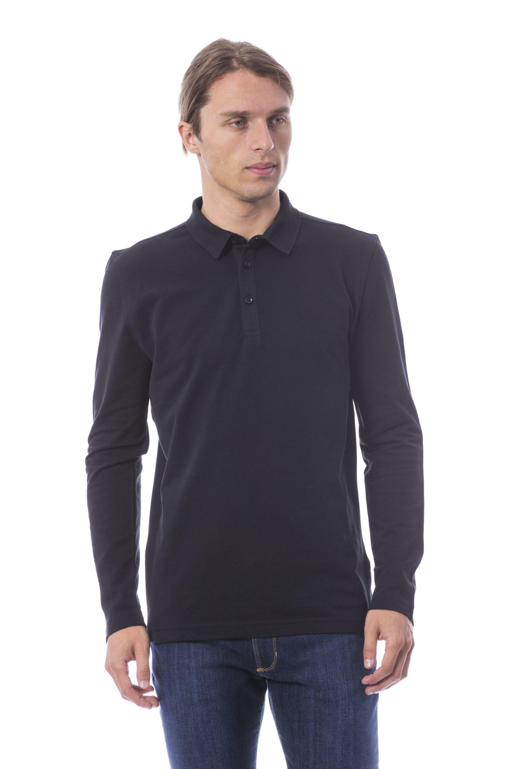 Verri Men's Vnero Polo Shirt Black VE995688 - L