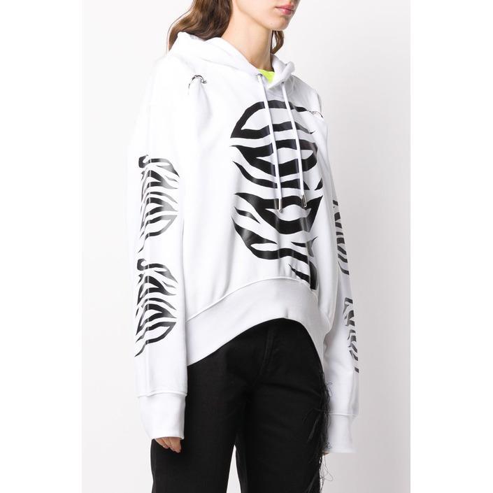 Diesel Women's Sweatshirt White 297651 - white 2XS