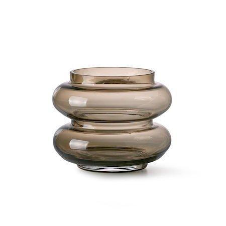 Smoked Brown Glas Vase S