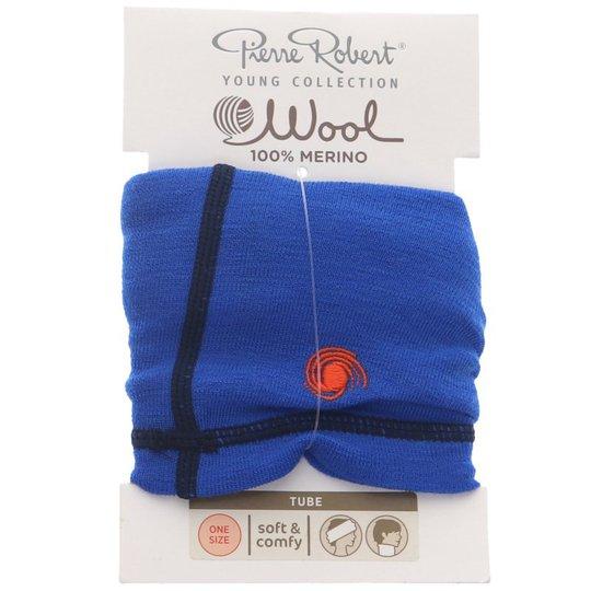 Wool Tube One Size Blå - 81% rabatt