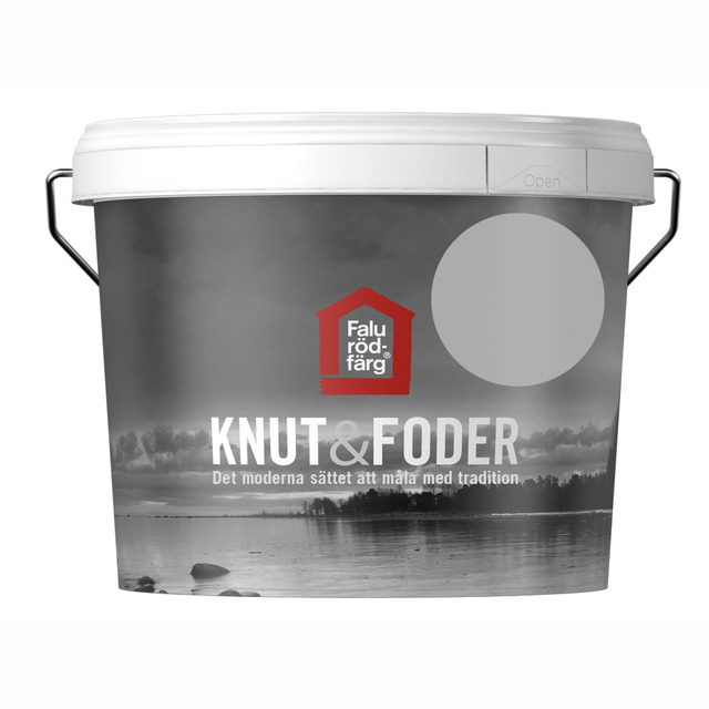 FALU RÖDFÄRG KNUT&FODER GRÅ 3L