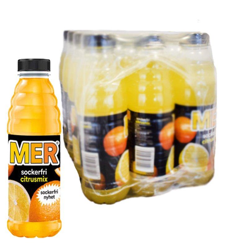 MER Zero Citrus 12-pack - 38% rabatt