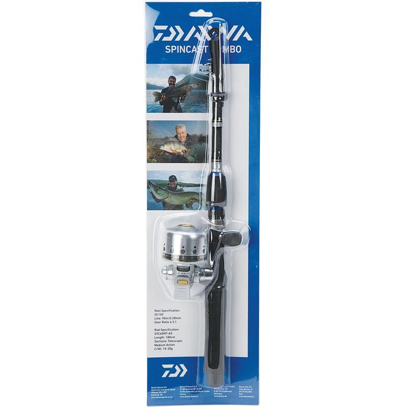 Daiwa Silvercast Tele Set 1,8m 10-30g Ypperlig startsett!