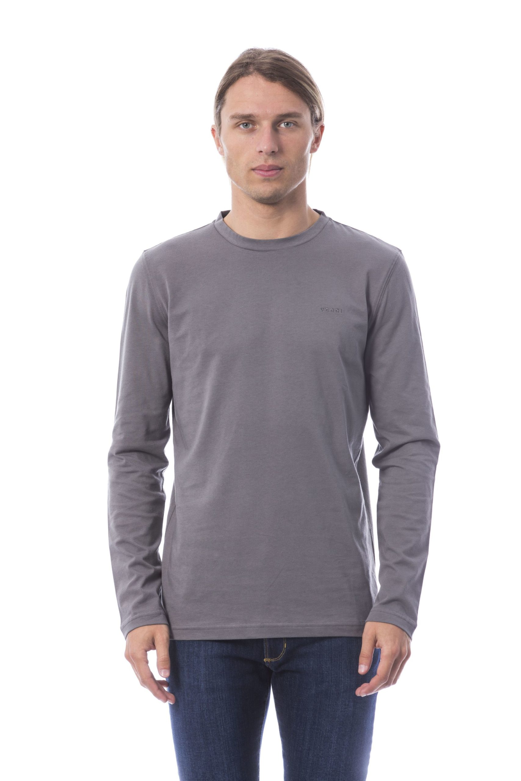 Verri Men's Vgrigiochiaro T-Shirt Gray VE678975 - XL