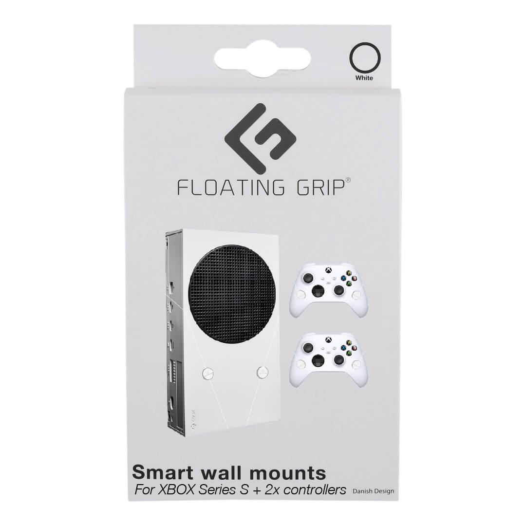 Floating Grip Xbox Seriex S Wall Mount - Bundle White