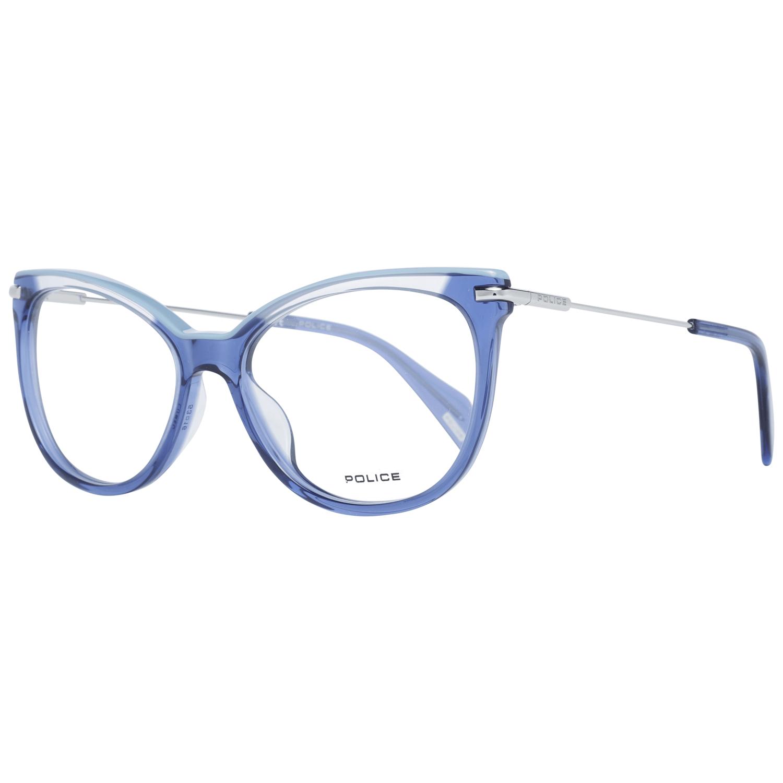 Police Women's Optical Frames Eyewear Blue PL505E 530955