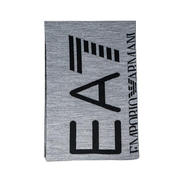 Ea7 Men's Scarf Grey 273297 - grey UNICA