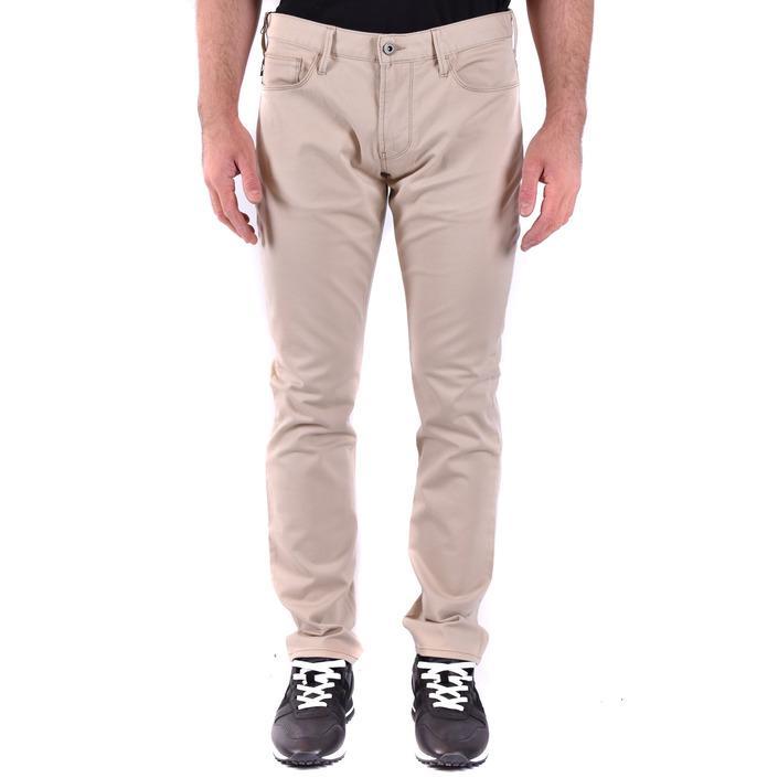 Emporio Armani Men's Jeans Beige 184437 - beige 38