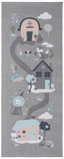 Alice & Fox Gulvteppe Houses, Grey