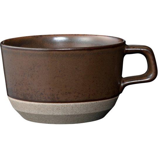Kinto CLK-151, kaffekopp, brun