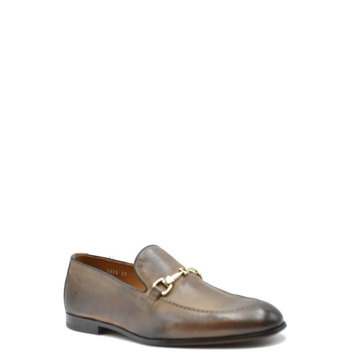 Doucal`s Men's Slip On Shoes Brown 168235 - brown 39