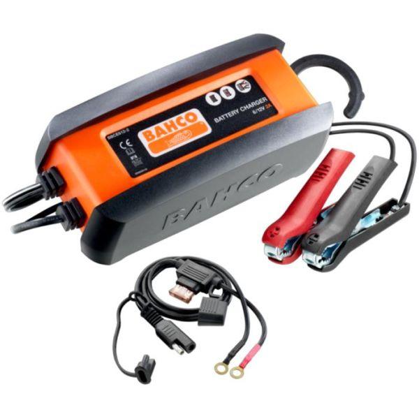 Bahco BBCE612-2 Batterilader 2 A, for 6 og 12 V batterier