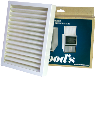 Woods Ramme Med Smf Filter Til Ds, Ed Og Tdr-modellerne Kaminer