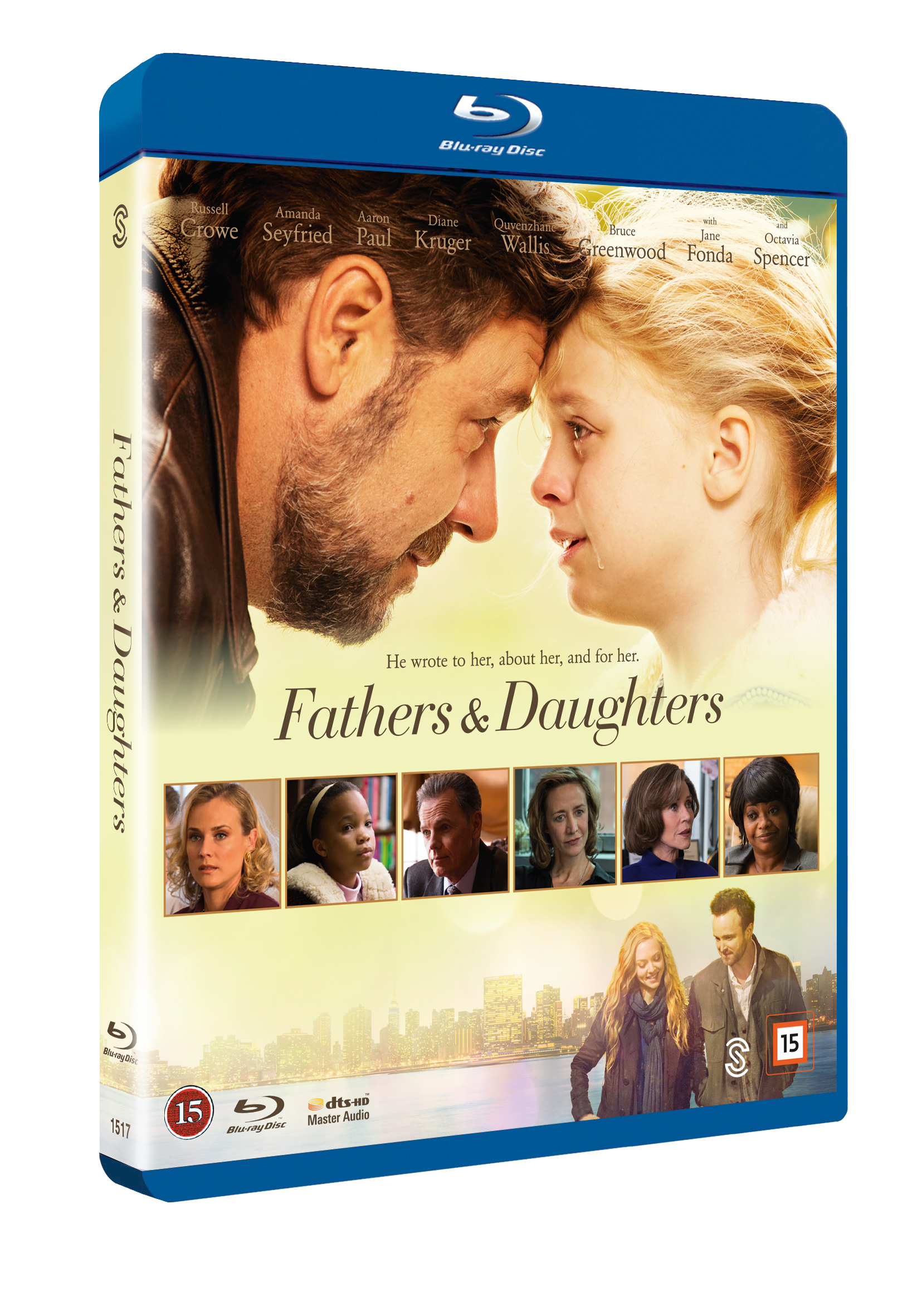Fathers & Daughters - Blu Ray