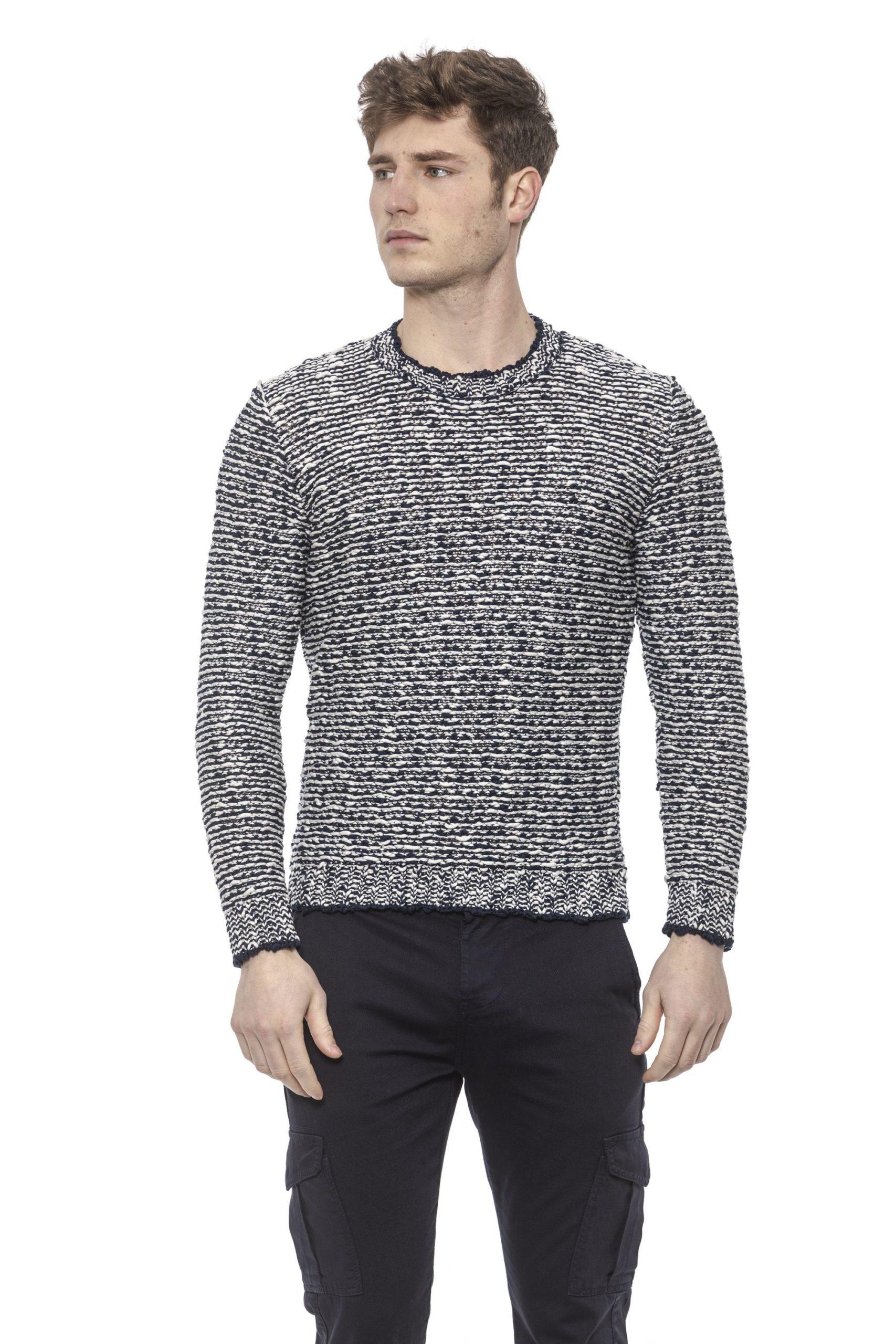 Alpha Studio Men's V A R. U N I C A Sweater Blue AL1374479 - IT50 | L