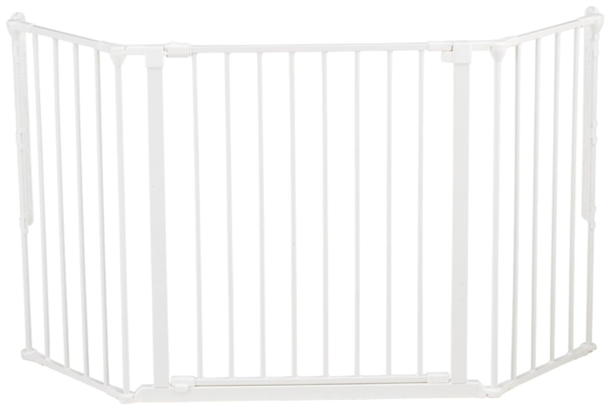 BabyDan Flex M Säkerhetsgrind Skruvgrind (Tidigare Flex 3), Vit