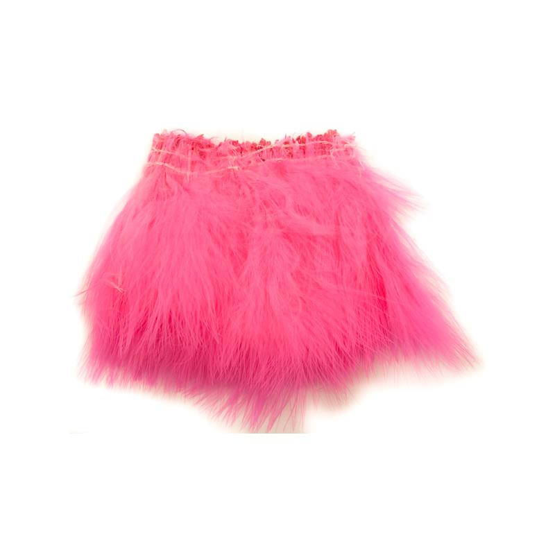 Marabou Blood Quill - Fl. Pink