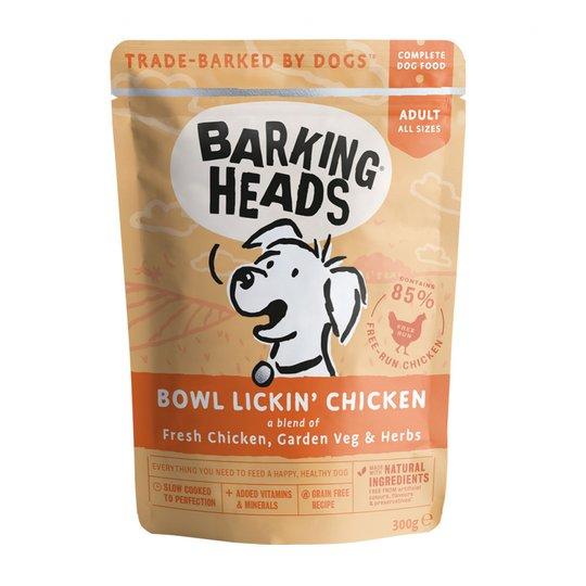 Barking Heads Bowl Lickin Chicken 300 g