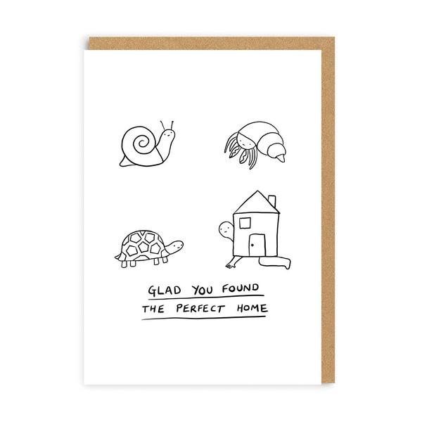 New Home Shell Greeting Card