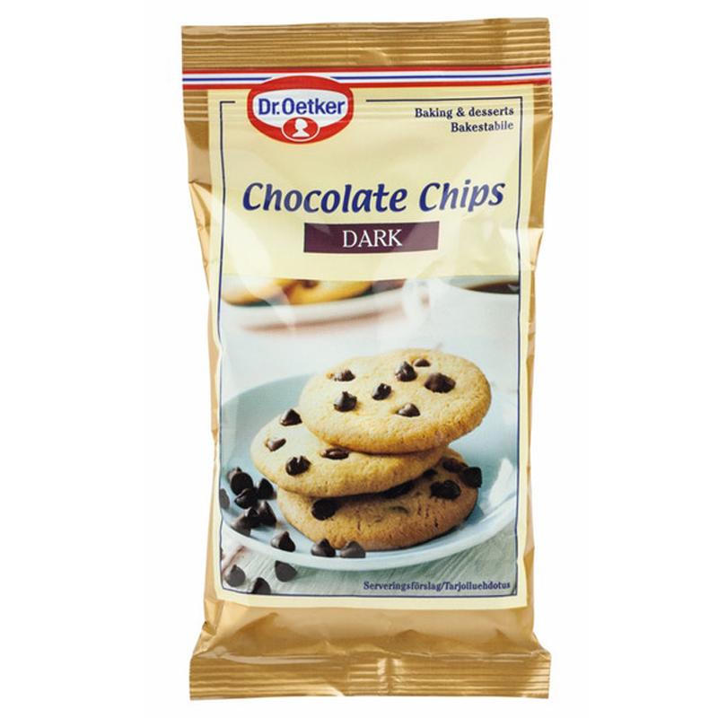 Chokladdroppar Mörk - 63% rabatt
