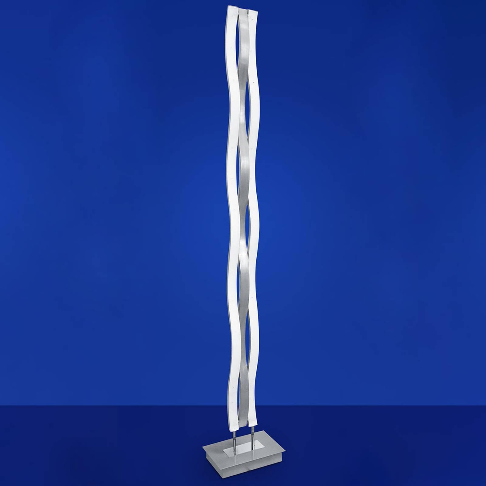 Aaltomainen LED-lattiavalaisin Helios II