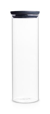 Glasburk Stapelbar 1.9 Ltr Glas/Grått Lock