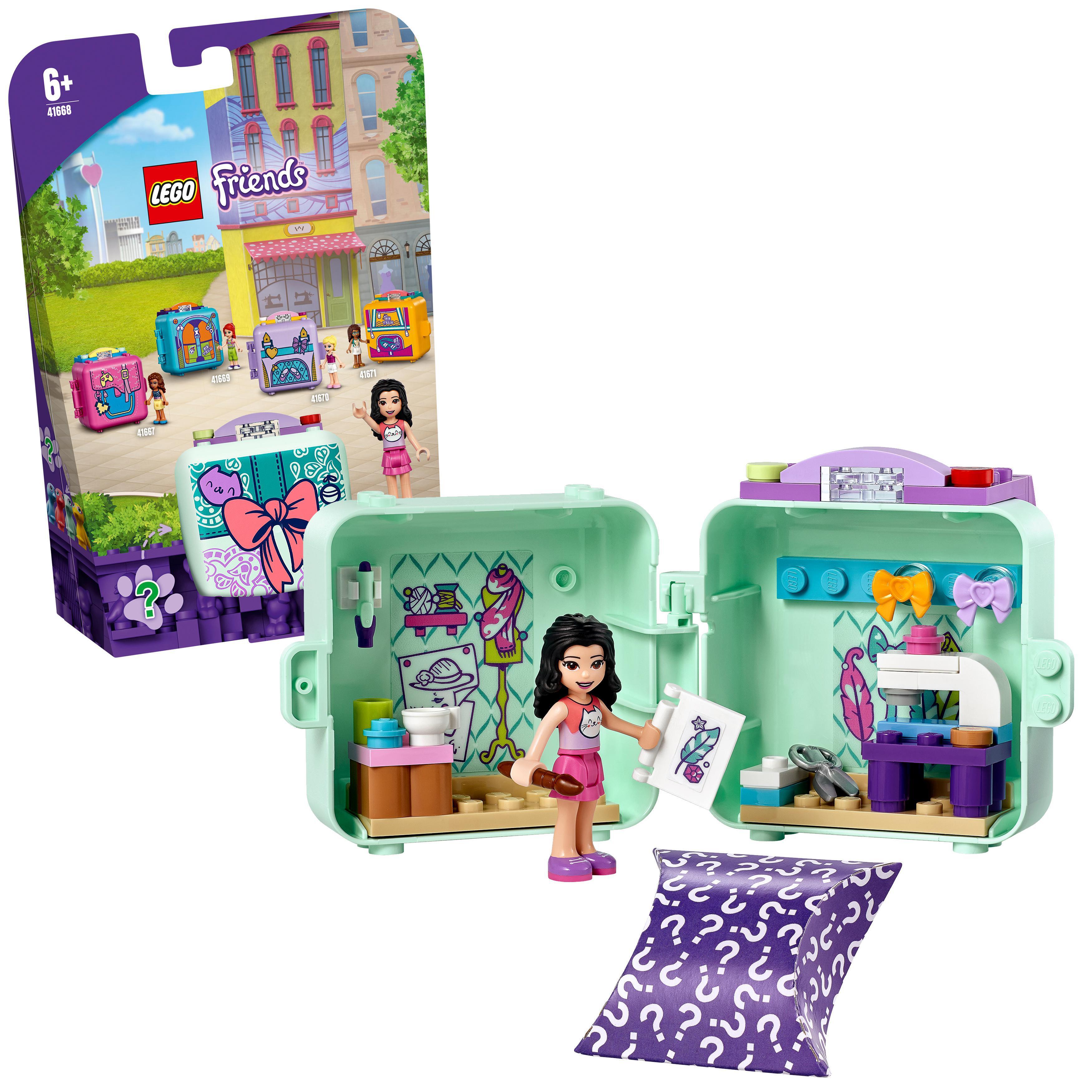 LEGO Friends - Emma's Fashion Cube (41668)